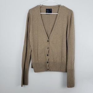 AEO Button Up Cardigan Sweater